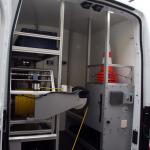 Ford Transit L3 wysoki dach samochód do inspekcji kanalizacji przestrzeń robocza samochodu inspekcyjnego