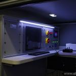 Renault Trafic samochód do inspekcji kanalizacji część biurowa z oświetleniem LED
