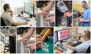Pracownicy firmy ABE Complex Technology polskiego producenta kamer do inspekcji kanalizacji