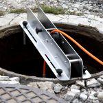Rolka nastudzienna kabla kamery inspekcyjnej