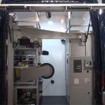 Przestrzeń robocza samochodu inspekcyjnego