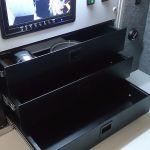 szuflady rack 19 cali metalowe do samochodu inspekcyjnego