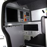 Fiat Doblo samochód do inspekcji kanalizacji część biurowa