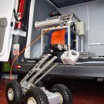 Kamera inspekcyjna CT 1800 i samochód inspekcyjny