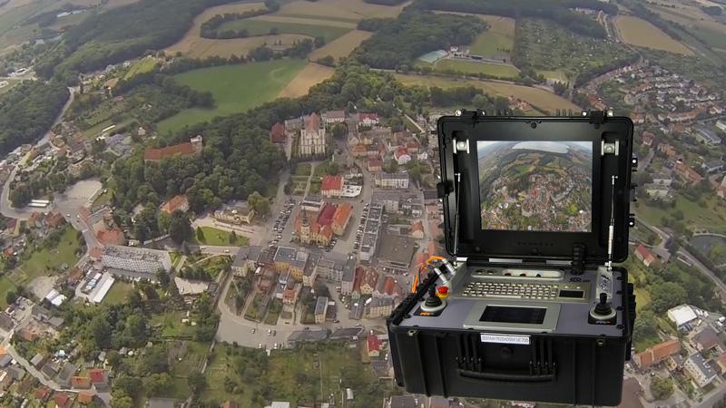 Testy drona i uniwersalnego zestawu sterowania