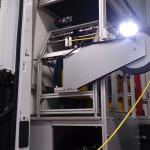winda kablowa samochodu inspekcyjnego z wysięgnikiem i oświetleniem