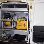 Fiat Doblo samochód do inspekcji kanalizacji część sprzętowa