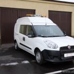 Fiat Doblo samochód do inspekcji kanalizacji