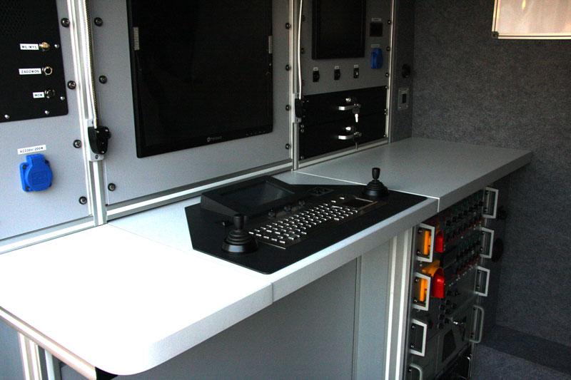 Pulpit sterowniczy kamery inspekcyjnej
