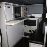 Samochód do inspekcji kanalizacji i rurociągów - część operatora
