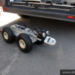 Kamera do inspekcji rurociągów i kanalizacji zabudowana na samochodzie inspekcyjnym