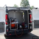 Renault Trafic samochód do inspekcji kanalizacji część sprzętowa
